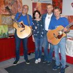 Musikalische und Bildende Kunst beim Treffen der Tierpaten im Tom-Tatze-Tierheim