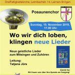 Einladung zur evangelischen Gemeindeversammlung St. Ilgen