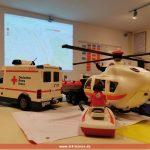 Planspiel Großeinsatz für Feuerwehr und DRK