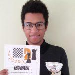 Schach: Philippe Simbikangwa gewinnt U18 Jugend-Bezirksmeisterschaft
