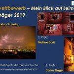"""Fotowettbewerb """"Mein Blick auf Leimen"""" - Sieger ausgezeichnet - Ausstellung bis 27.11."""