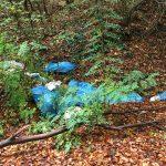 Nußloch: Wilde Müllablagerungen am Eingang zur Weißen Hohl