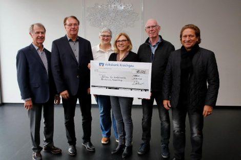 "Lions Club Leimen spendet 10.375 € an ""Aktion für krebskranke Kinder e. V. Heidelberg"""