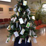 Kinder-Weihnachtswunsch-Aktion: LUNA mit Wünschebaum im neuen Rathaus