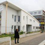 Letzte Bauarbeiten an Ludwig-Uhland-Haus - Neubau des Kinderhauses für 4Kindergartengruppen