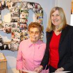 Lydia Merklinger feiert 90.Geburtstag - Bürgermeisterin Claudia Felden zu Besuch