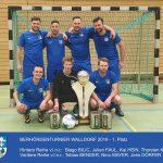 Stadtverwaltung Leimen gewinnt zum zweiten Mal das Fußball-Behördenturnier