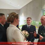 Feuerwehr und Rettungsdienst gratulierten