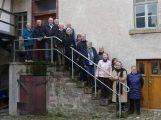 Neun Nachkommen des letzten Leimener Müllers besichtigten die Bruckersche Mühle