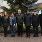 Haus + Grund Leimen spendete auch 2019 wieder 500,- EUR für den Weihnachtsbaum
