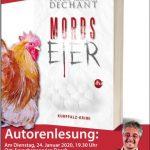 """Vorankündigung: """"Mordseier"""" - Autorenlesung mit Klaus Maria Dechant"""