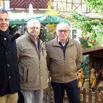 Weihnachtskrippe wird im kommenden Jahr aufbereitet - Geschenk der Schnitzfreunde an die Stadt