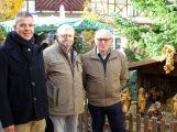 Weihnachtskrippe wird im kommenden Jahr aufbereitet – Geschenk der Schnitzfreunde an die Stadt