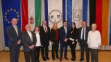 Eleks neuer Bürgermeister György Szelezsán zu Besuch beim Eleker Kulturkreis in Leimen