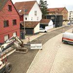 Baustelle Theodor-Heuss-Straße im Zeitplan - </br>Erster Teilabschnitt bereits abgeschlossen