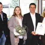 25-jähriges Dienstjubiläum Rudi Kuhn - Oberbürgermeister Hans Reinwald gratuliert
