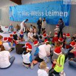 Kinderweihnacht beim Tennis Club Blau-Weiß Leimen mit Grabbelsack-Geschenken