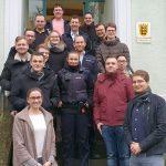 Junge Union bedankt sich für Feiertagsarbeit stellvertretend bei Polizei und Lebenshilfe
