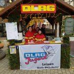 DLRG-Jugend auf dem Leimener Weihnachtsmarkt