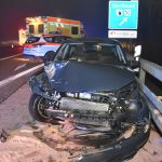 BAB / Sandhausen: Schwerer Verkehrsunfall, drei Verletzte, hoher Sachschaden