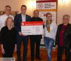 Vorbildlich: Freunde der Bücherei Nußloch spendeten knapp 8.400 €