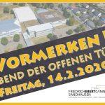 14. Februar: Abend der offenen Tür am Friedrich-Ebert-Gymnasium Sandhausen