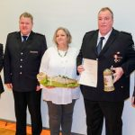 Alexander Skarsig erhält Ehrenzeichen in Gold für  40 Jahre Feuerwehrdienst