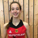Basketball: Annika Soltau für ihren Einsatz in der Nationalmannschaft geehrt