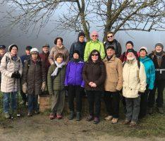 Dreikönigswanderung des TV Germania bei Sonne, Frost und Nebel