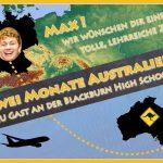 Zwei Monate Schulbesuch in Australien - </br>Von Sandhausen an die Blackburn High School