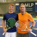 Tennis MLP-Cup Qualifikation: Leimens Lokalmatador in 2. Runde ausgeschieden