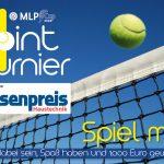 Tennis: 1-Punkt-Turnier - Jede*r kann teilnehmen - 1.000 € Gewinnprämie