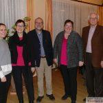 Winterfeier der SPD Leimen - Lisa-Marie Werner jüngstes Gemeinderatsmitglied