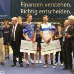 Ruben Bemelmans gewinnt MLP-Cup gegen starken Joungster Jonas Forejtek