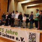 Kultur- und Sportgemeinde Leimen (KuSG) feierte 75jähriges Jubiläum