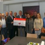 Leimen aktiv spendet 2.020 € aus Weihnachtsmarkt-Tombola für Basket 2.0
