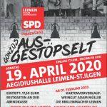 "SPD Leimen präsentiert""GONZOs ausgestöpselt"" in der Aegidiuhalle"