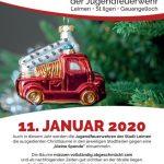 47. Christbaumaktion der Jugendfeuerwehren Leimen, St. Ilgen und Gauangelloch
