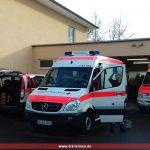Arbeitseinsatz Fahrzeugpflege beim DRK Leimen