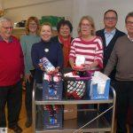 Freien Wähler Leimen: Besuch der Tafel - Dank an Ehrenamtliche Mitarbeiter*innen