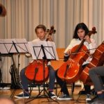 2. Preis bei Jugend Musiziert für Leimener Cello-Duo Gómez/Bollmann