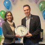 Logopädische Praxis in Nußloch eröffnet – Bürgermeister Förster gratuliert