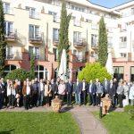 Grandioser Jahresempfang in Leimens schönstem Stadtteil, der Villa Toskana