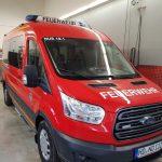 Feuerwehr Nußloch erhielt neuen Mannschafts-Transportwagen (MTW)