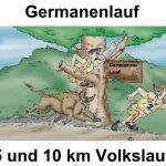 ABGESAGT: Germanenlauf über 5 und 10 km am Samstag, 21. März  in St. Ilgen