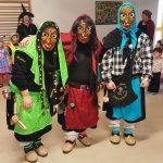 Fasching im St. Georg Kindergarten mit den Hexen vom Grobrunn