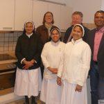 Neue Küche in Schwesternhaus Karmel fertig
