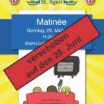 Verschoben: Musikverein St. Ilgen Martinée - Abgesagt: Troubadoure Tour de France