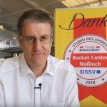 Racket Center Nußloch: Grußbotschaft und Hometrainings-Anleitungen