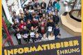 """Siegerehrung zum """"Informatikbiber"""" und Landeswettbewerb Mathematik"""